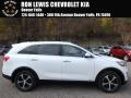 Kia Sorento EX 2.0T AWD Snow White Pearl photo #1