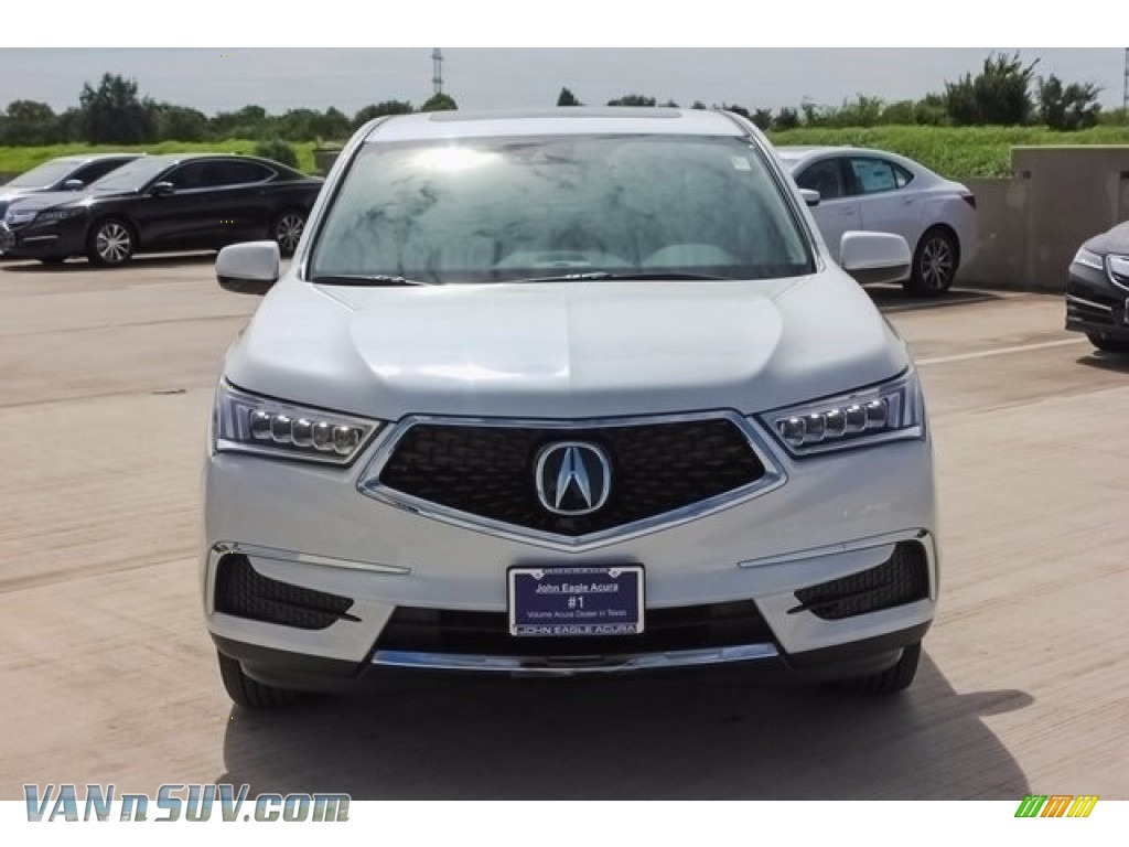 2018 MDX  - White Diamond Pearl / Parchment photo #2