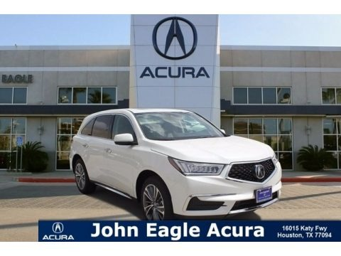 White Diamond Pearl 2018 Acura MDX