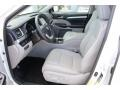 Toyota Highlander XLE Blizzard White Pearl photo #10