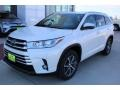 Toyota Highlander XLE Blizzard White Pearl photo #3