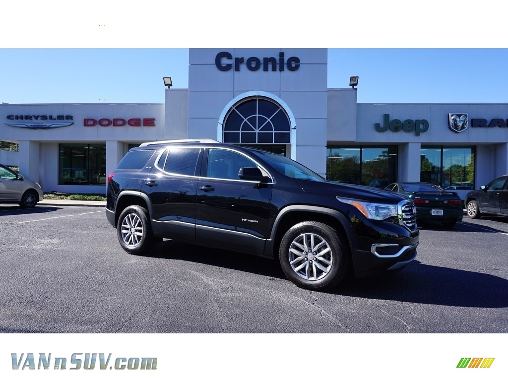 2017 Acadia SLE - Ebony Twilight Metallic / Jet Black photo #1