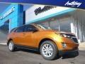 Chevrolet Equinox LS AWD Orange Burst Metallic photo #1