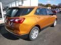 Chevrolet Equinox LS AWD Orange Burst Metallic photo #4