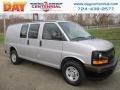 Chevrolet Express 2500 Cargo WT Silver Ice Metallic photo #1