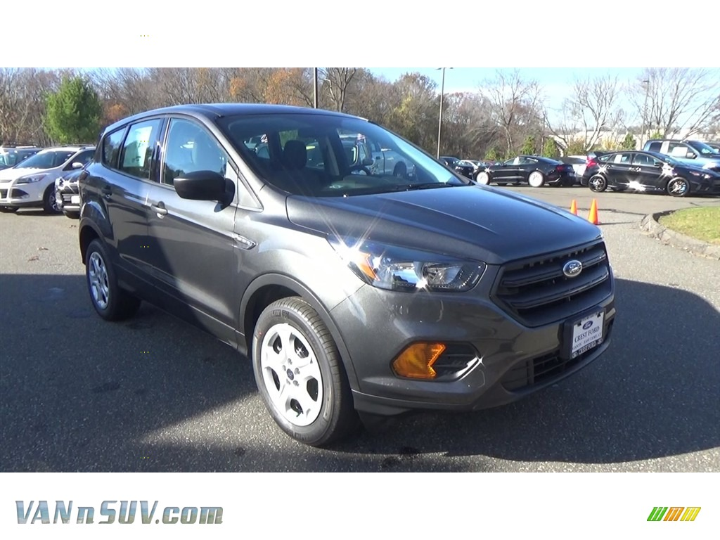2018 Escape S - Magnetic / Charcoal Black photo #1