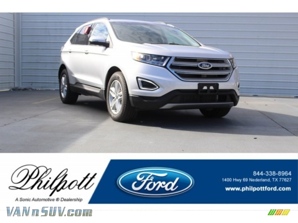 Ingot Silver Metallic / Ebony Ford Edge SEL