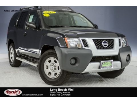 Super Black 2012 Nissan Xterra X
