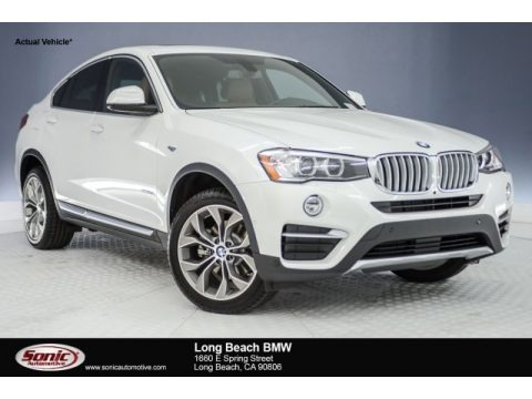 Mineral White Metallic 2018 BMW X4 xDrive28i