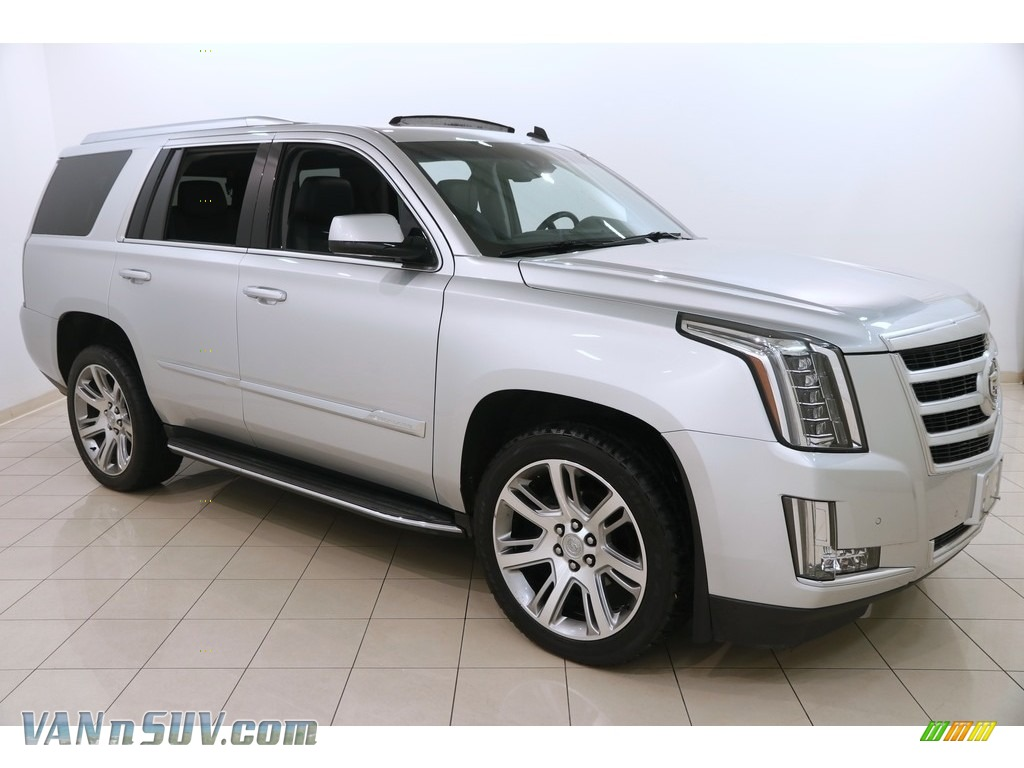 2015 Escalade Luxury 4WD - Radiant Silver Metallic / Jet Black photo #1
