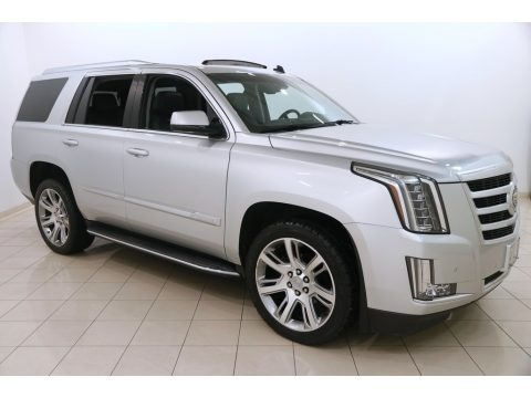 Radiant Silver Metallic 2015 Cadillac Escalade Luxury 4WD