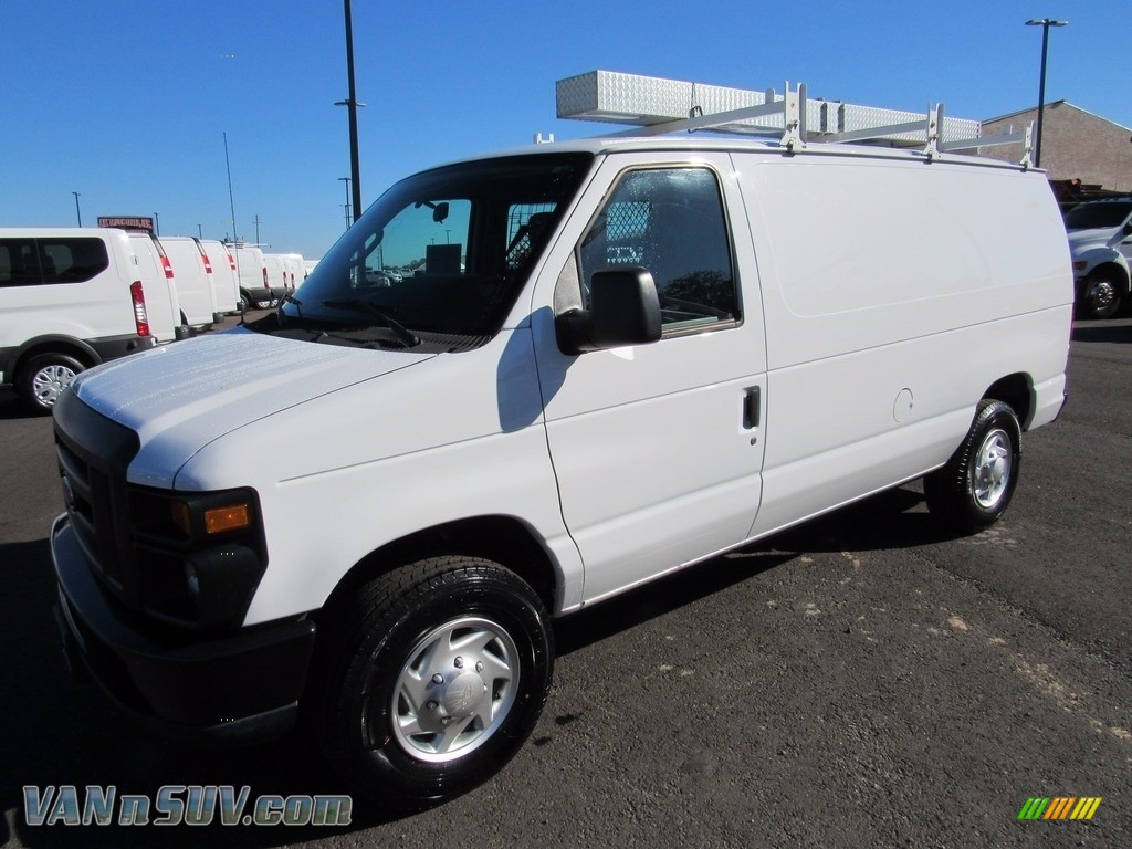 2012 E Series Van E250 Cargo - Oxford White / Medium Flint photo #1