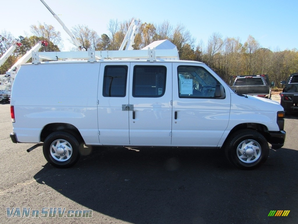 2012 E Series Van E250 Cargo - Oxford White / Medium Flint photo #5