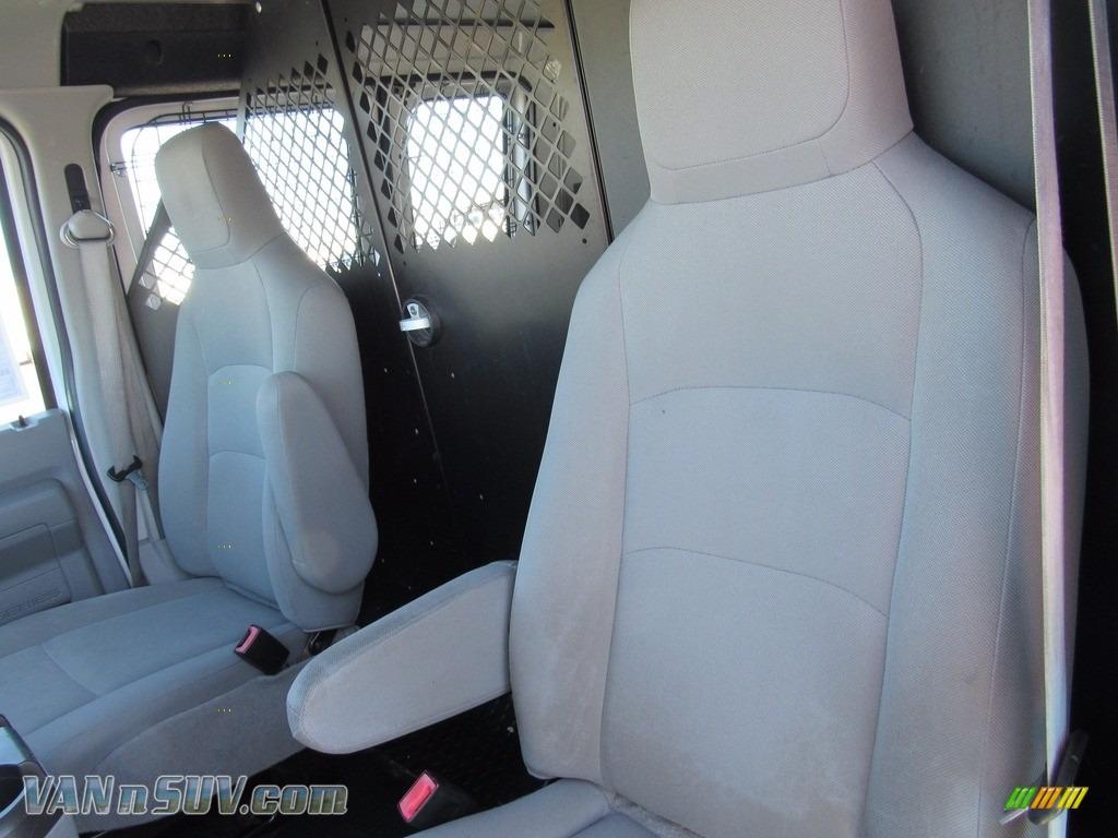 2012 E Series Van E250 Cargo - Oxford White / Medium Flint photo #24