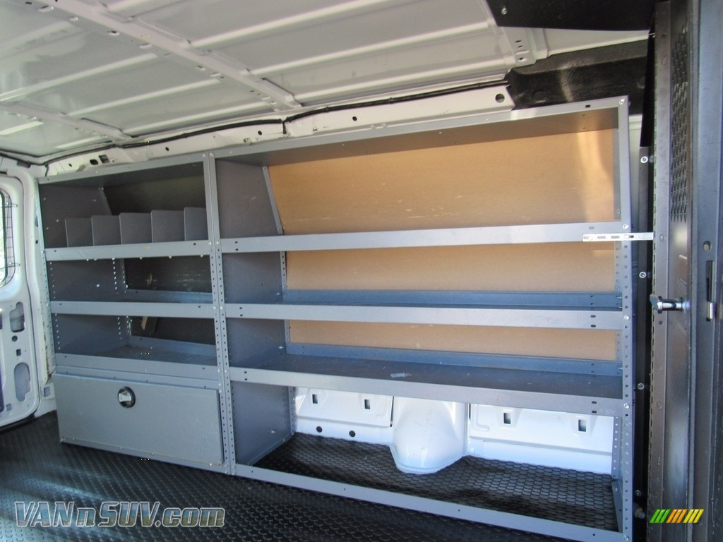 2012 E Series Van E250 Cargo - Oxford White / Medium Flint photo #35