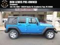 Jeep Wrangler Unlimited Sport 4x4 Hydro Blue Pearl photo #1