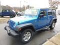 Jeep Wrangler Unlimited Sport 4x4 Hydro Blue Pearl photo #5