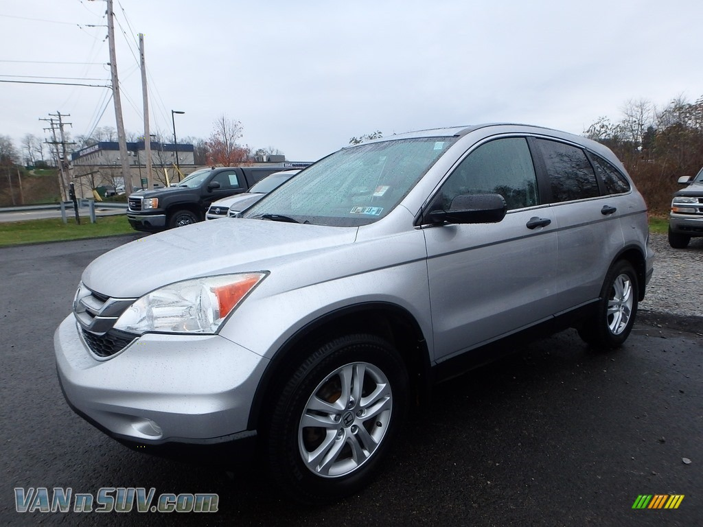 Alabaster Silver Metallic / Gray Honda CR-V EX AWD