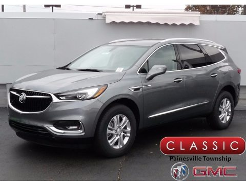Satin Steel Metallic 2018 Buick Enclave Essence AWD