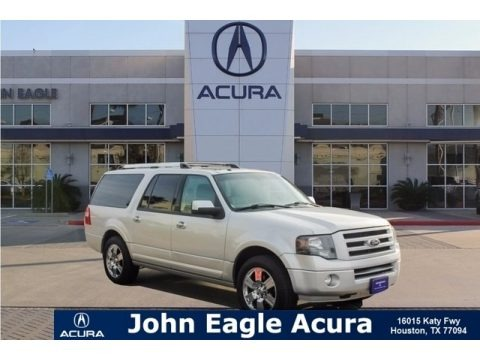 Ingot Silver Metallic 2010 Ford Expedition EL Limited