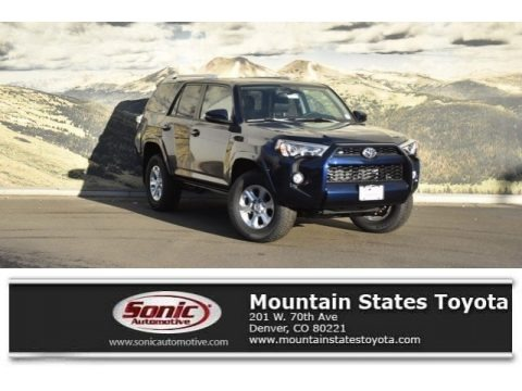 Nautical Blue Metallic 2018 Toyota 4Runner SR5 4x4