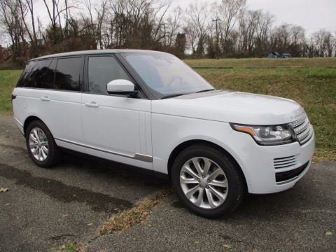Yulong White Metallic 2017 Land Rover Range Rover HSE