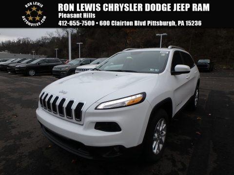 Bright White 2018 Jeep Cherokee Latitude Plus 4x4