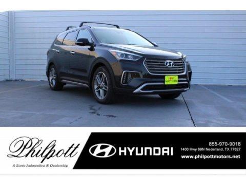 Becketts Black 2018 Hyundai Santa Fe Limited Ultimate