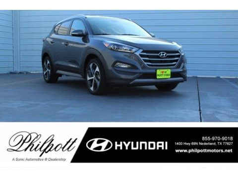 Coliseum Gray 2017 Hyundai Tucson Sport