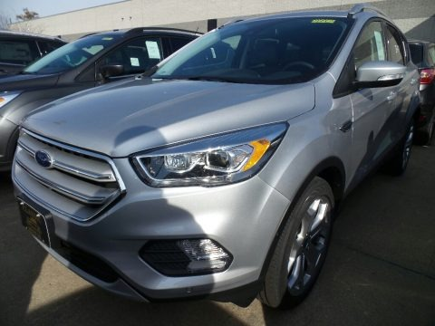 Ingot Silver 2018 Ford Escape Titanium 4WD