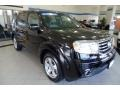 Honda Pilot EX-L 4WD Crystal Black Pearl photo #4