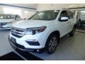Honda Pilot Touring AWD White Diamond Pearl photo #1