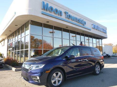 Forest Mist Metallic 2018 Honda Odyssey EX-L