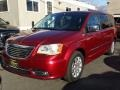 Chrysler Town & Country Touring - L Deep Cherry Red Crystal Pearl photo #3