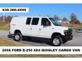 Ford E Series Van E250 Super Duty Cargo Oxford White photo #1