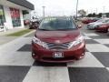Toyota Sienna XLE Salsa Red Pearl photo #2