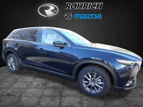 Deep Crystal Blue Mica 2018 Mazda CX-9 Sport AWD