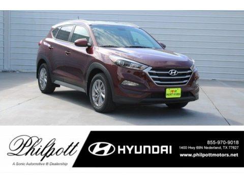 Ruby Wine 2017 Hyundai Tucson SE