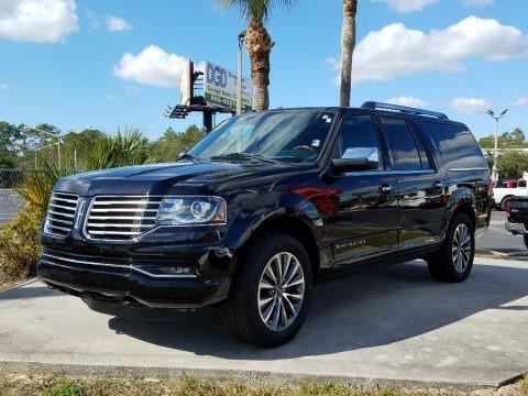 Black Velvet 2017 Lincoln Navigator L Select 4x4