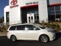 Toyota Sienna XLE Blizzard White Pearl photo #2