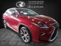 Lexus RX 350 AWD Matador Red Mica photo #1
