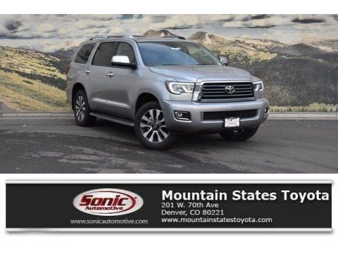 Silver Sky Metallic 2018 Toyota Sequoia Limited 4x4