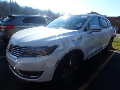 White Platinum 2017 Lincoln MKX Black Label AWD