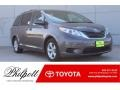 Toyota Sienna LE Predawn Gray Mica photo #1