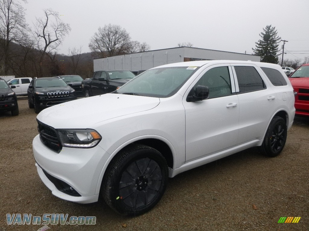 2018 Durango SXT AWD - White Knuckle / Black photo #1