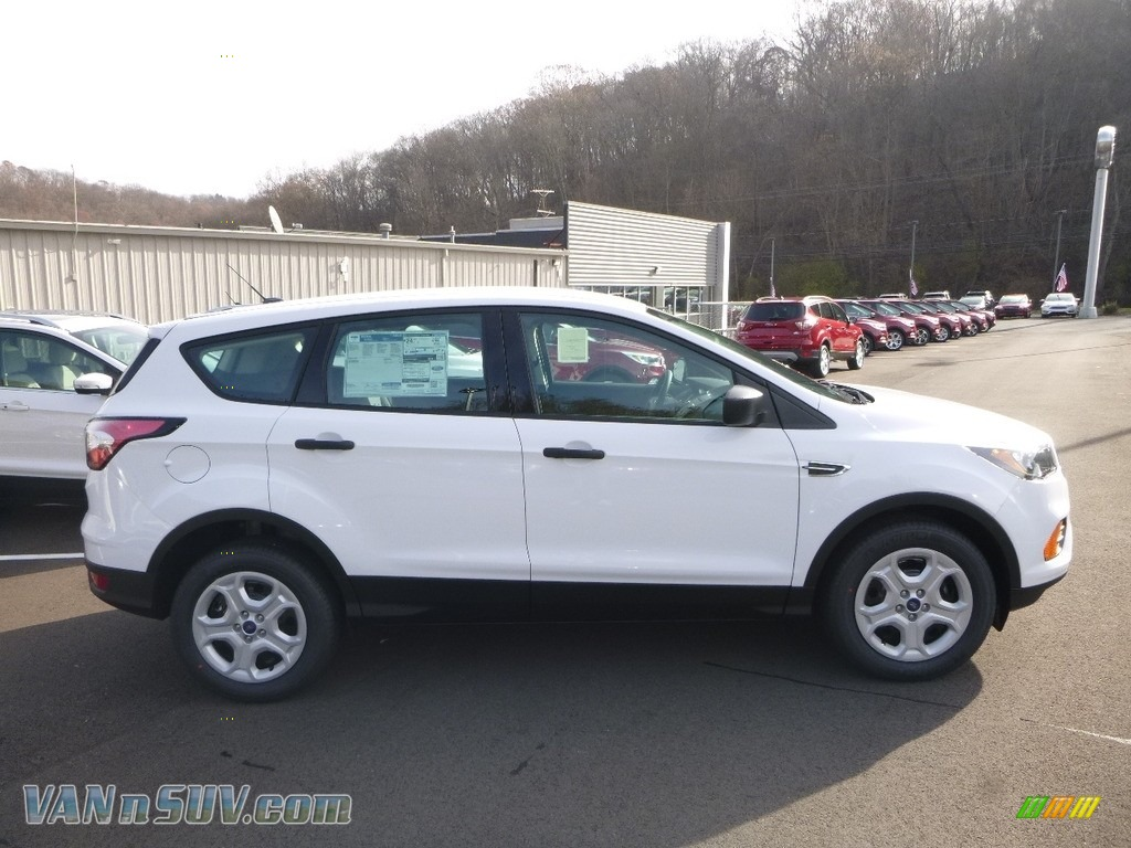 2018 Escape S - Oxford White / Charcoal Black photo #1