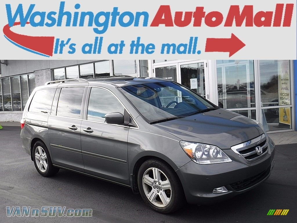2007 Odyssey Touring - Nimbus Gray Metallic / Gray photo #1