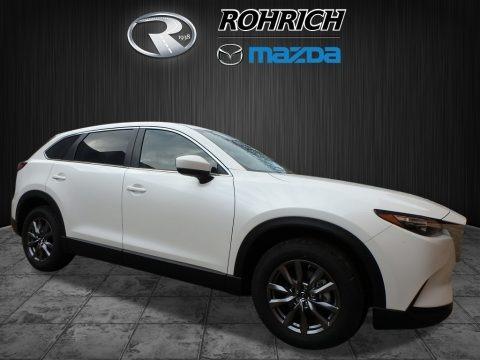 Snowflake White Pearl Mica 2018 Mazda CX-9 Sport AWD