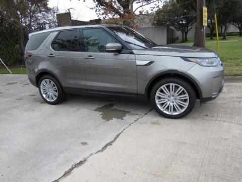 Silicon Silver 2017 Land Rover Discovery HSE