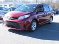 Toyota Sienna LE Salsa Red Pearl photo #3